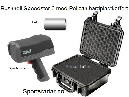Bushnell Speedster 3 m/koffert