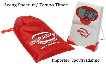 Swing Speed Radar m/ Tempo Timer